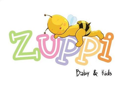 Logotipo da loja de artigos para crianças Zuppi - Baby e Kids